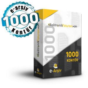 e-arsiv 1000 kontor