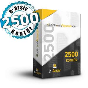 e-arsiv 2500 kontor